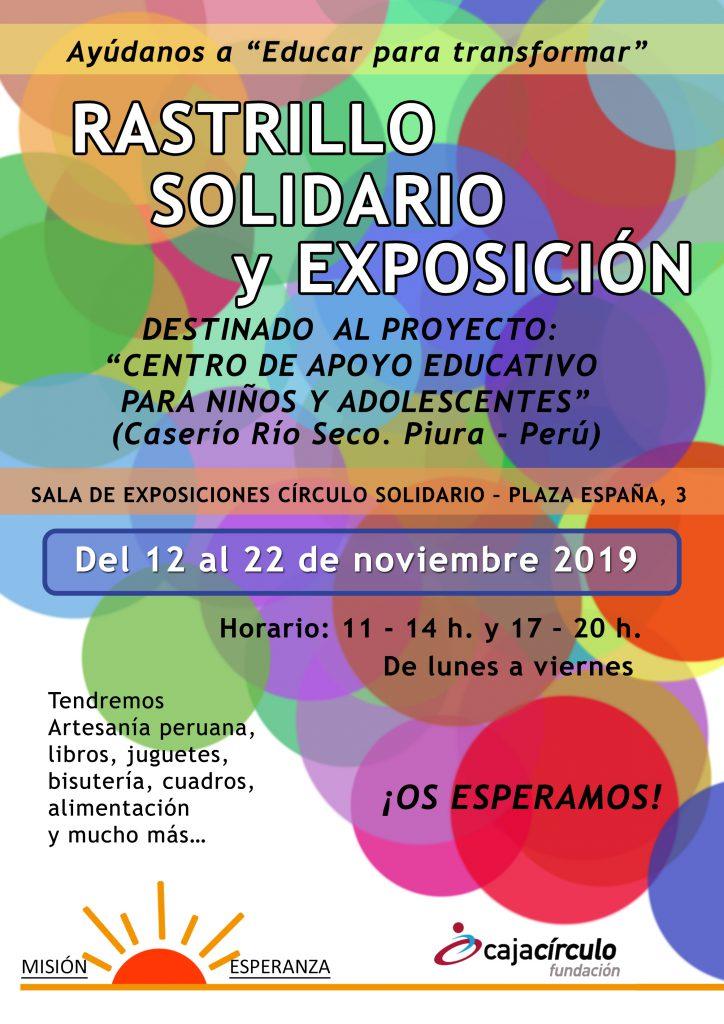 Rastrillo solidario y Exposición